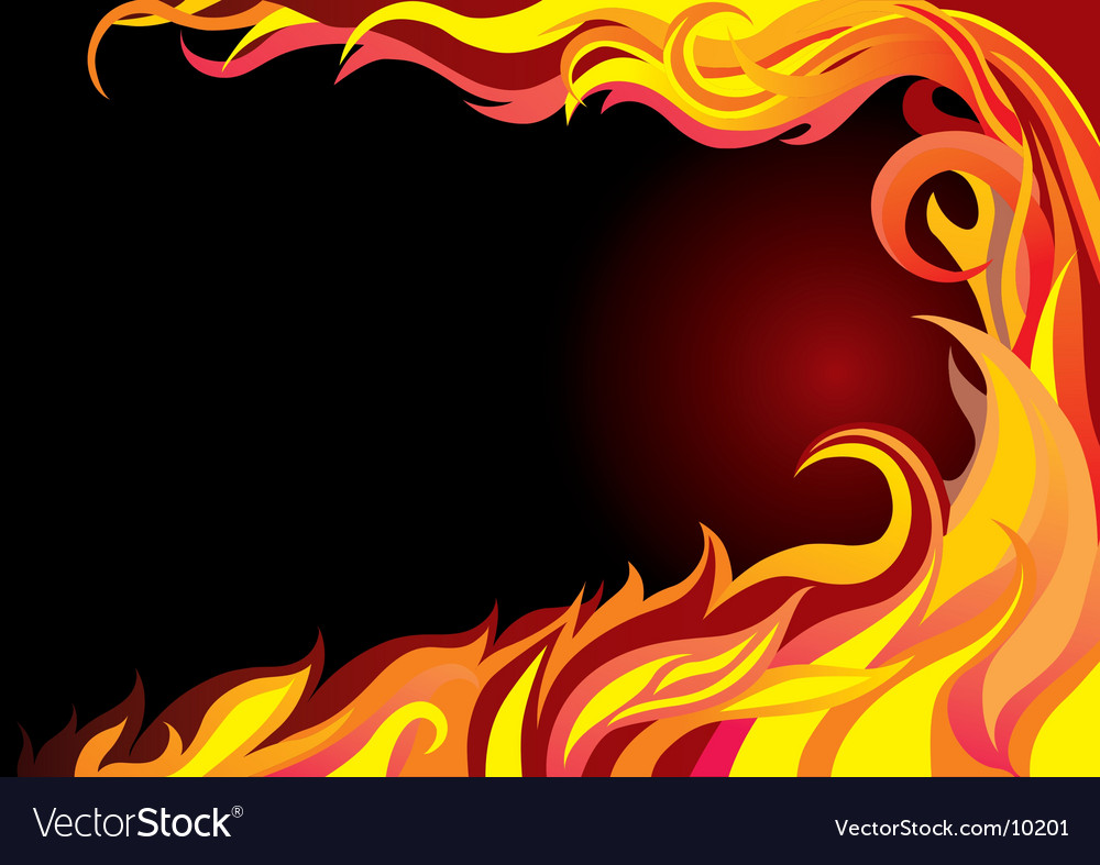 Fire graphic vector