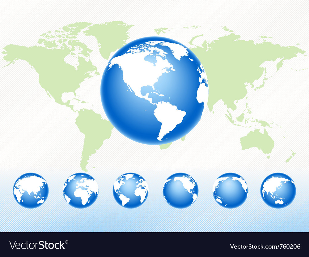 Global spheres vector
