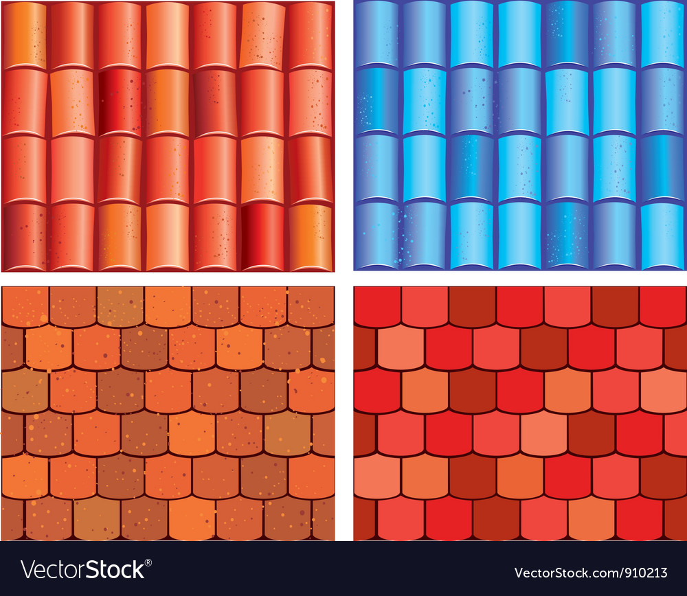 Tile background vector