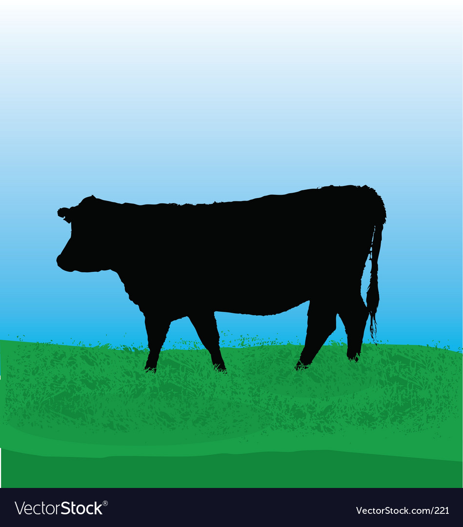 Free cow vector