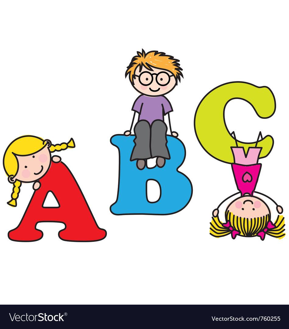 Learning the alphabet vector