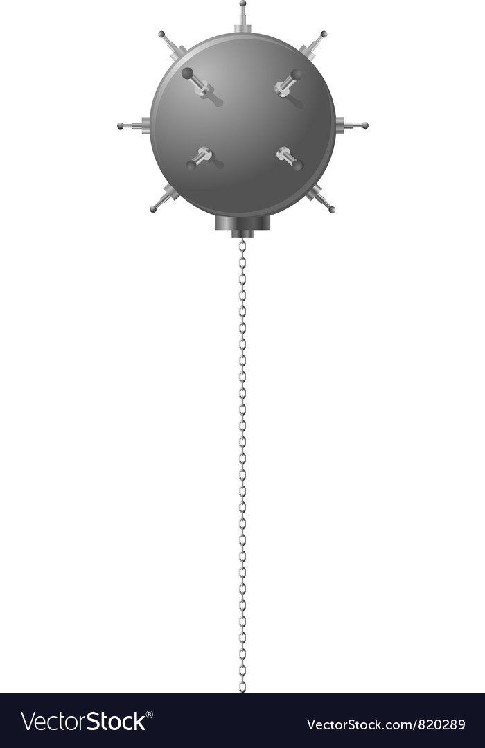 Naval mine vector