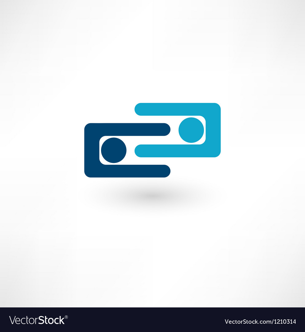 Team symbol collaboaration vector