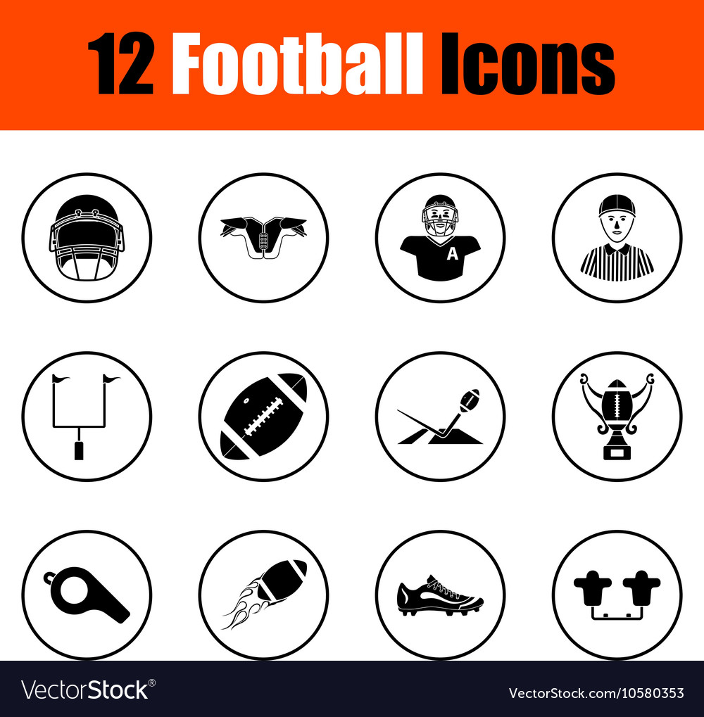 American football Icons  462 free vector icons  Flaticon
