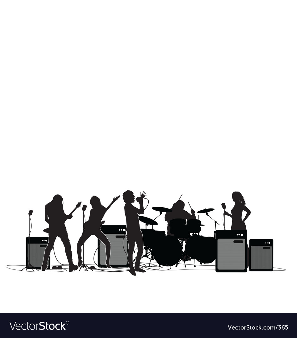 Free rock and roll vector