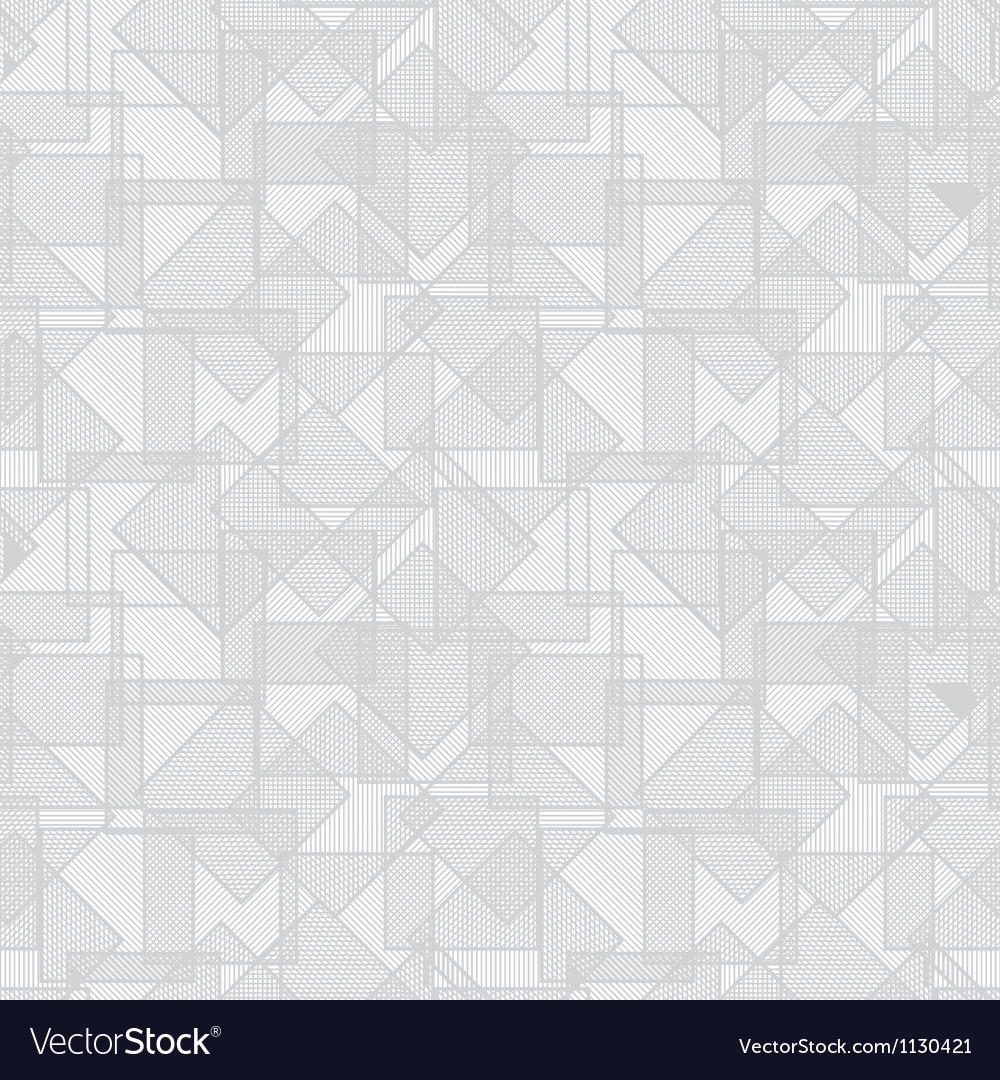 Abstract squares seamless pattern vector
