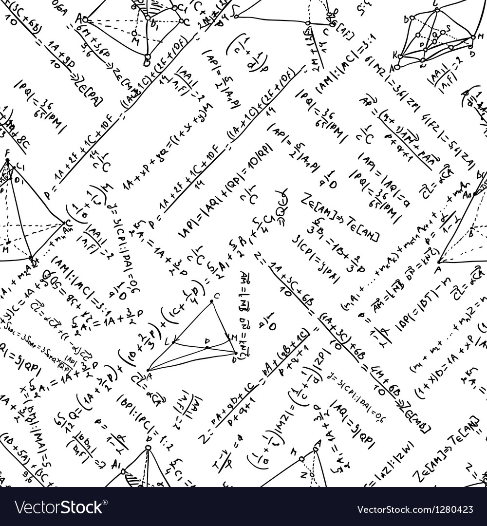 Maths seamless pattern and also includes eps 8 vector