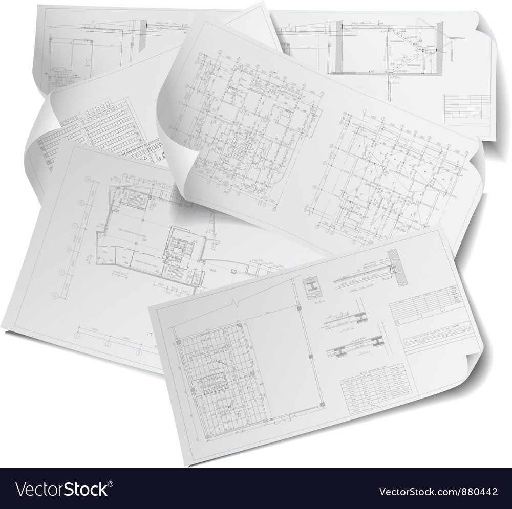 Architectural background vector