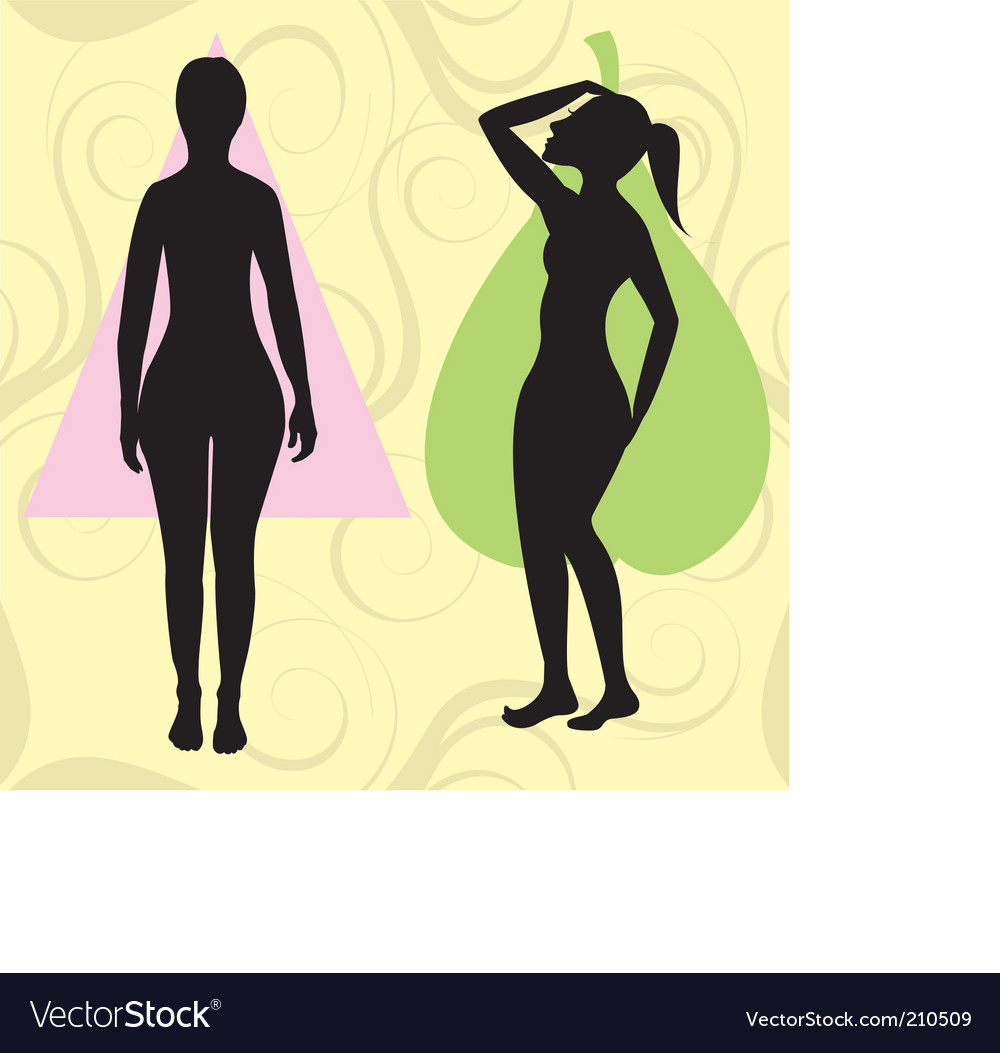 Pear spoon body vector