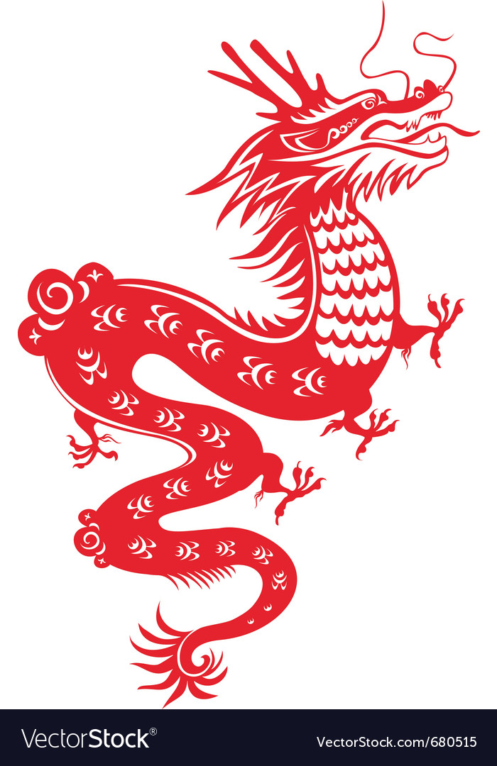 Illustration of Chinese Dragon by GeoImages | Toon Vectors EPS #34874