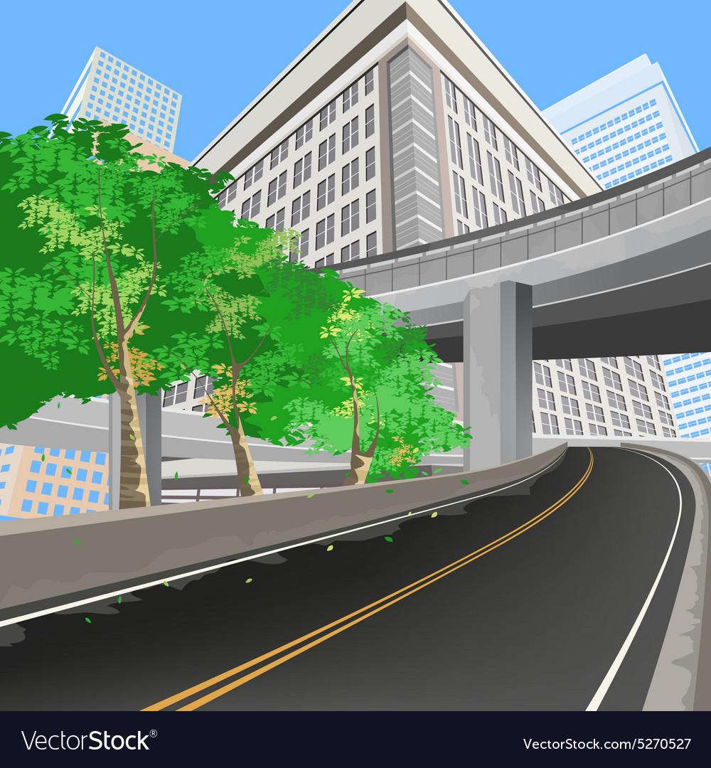 Transportation scene