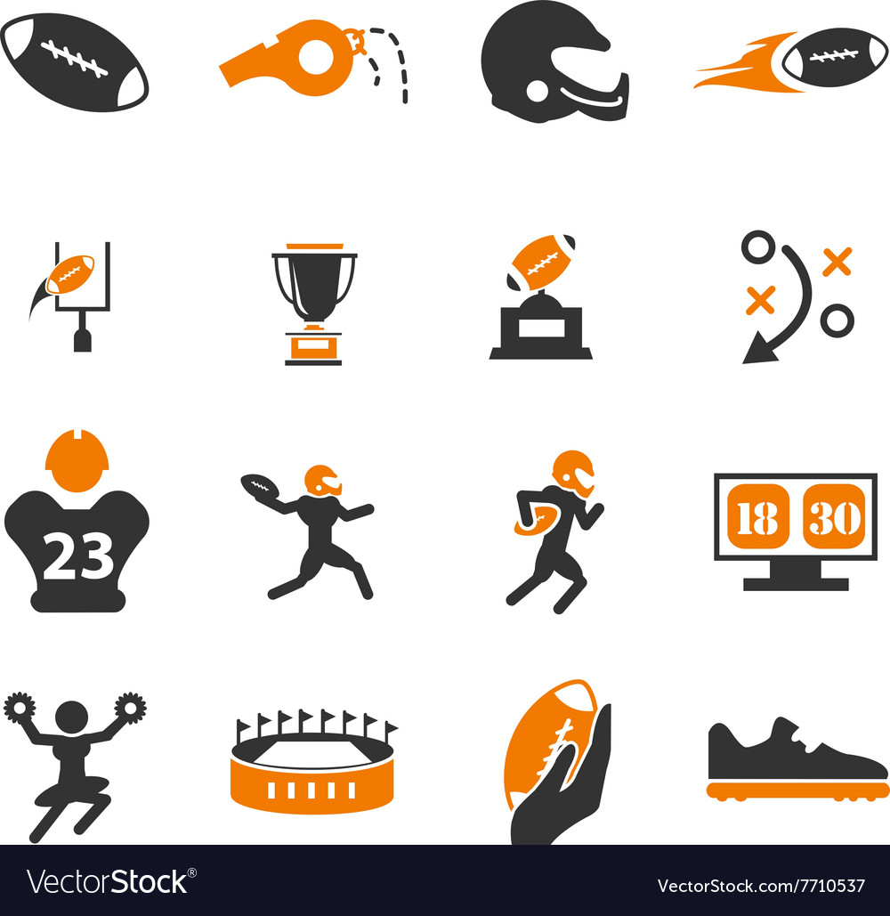American football Icons  Download for Free in PNG and SVG