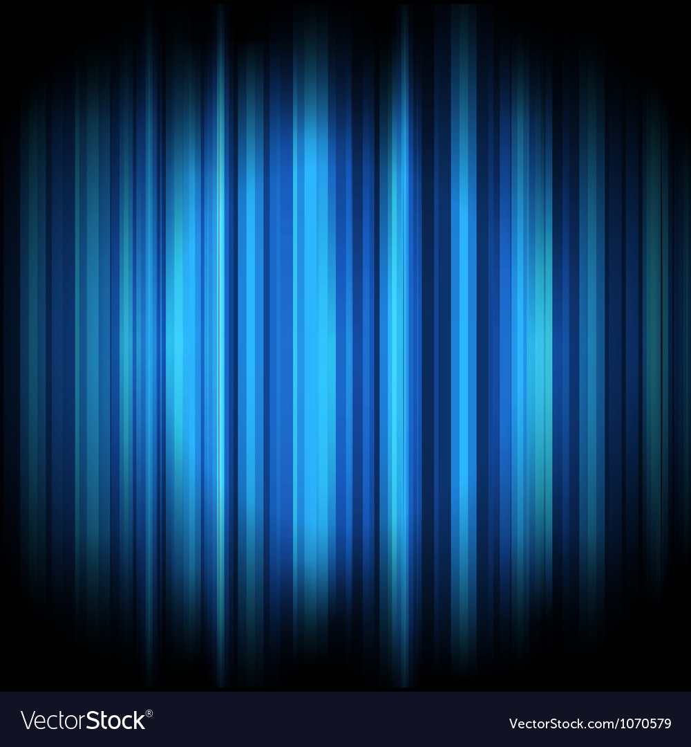 Abstract lights background blue vector