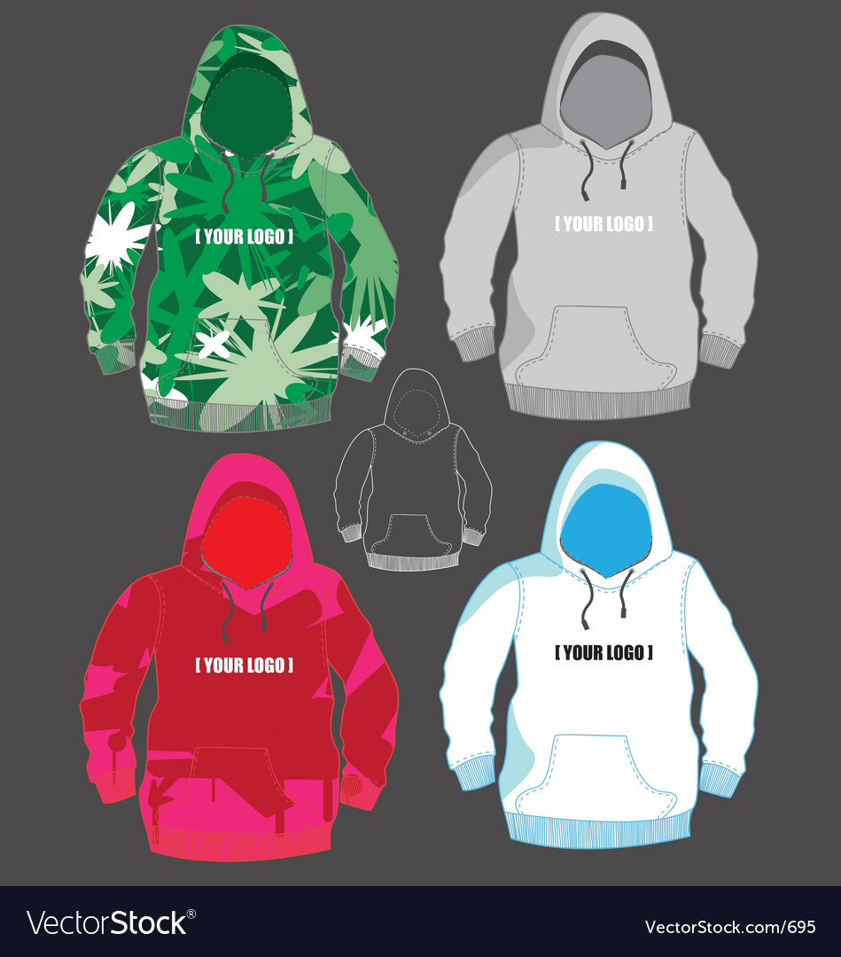 Free hoodies vector