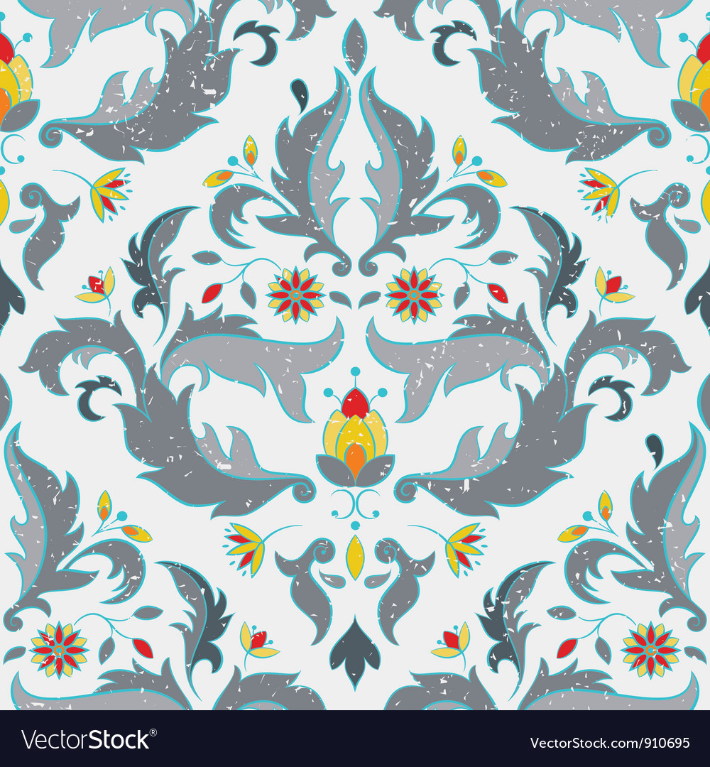 Multicolor seamless pattern vector
