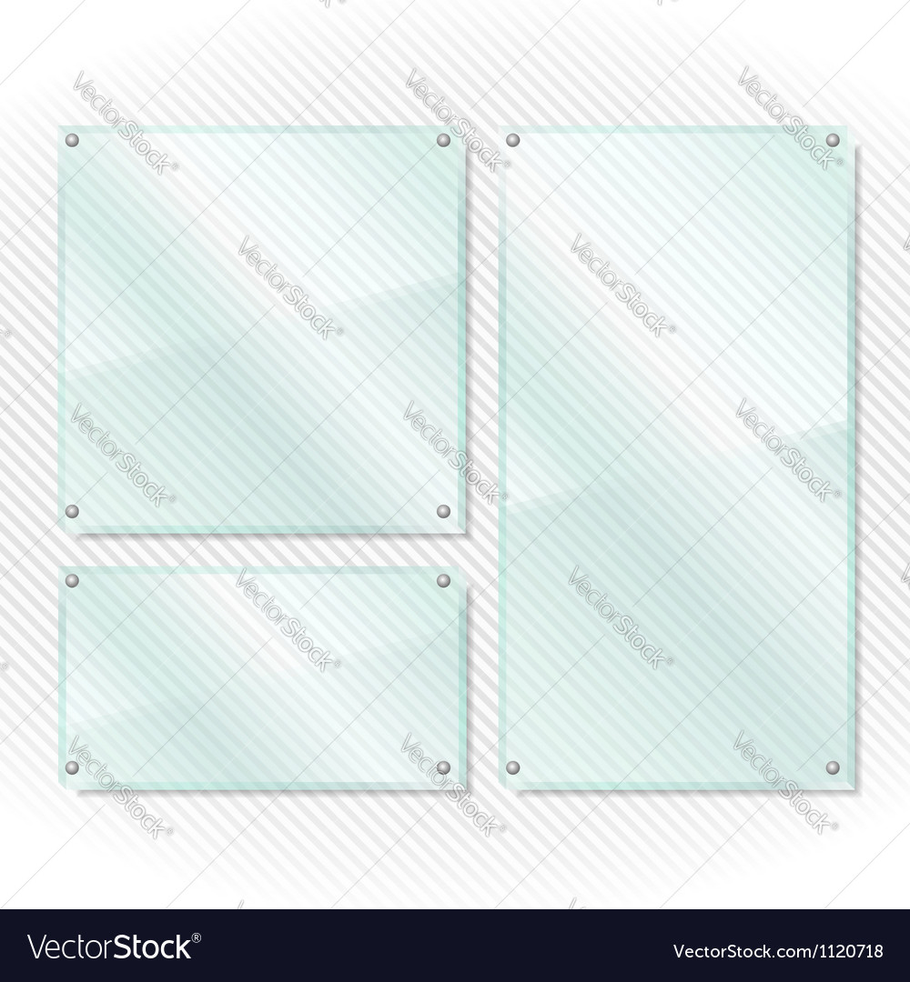 Glass frames vector