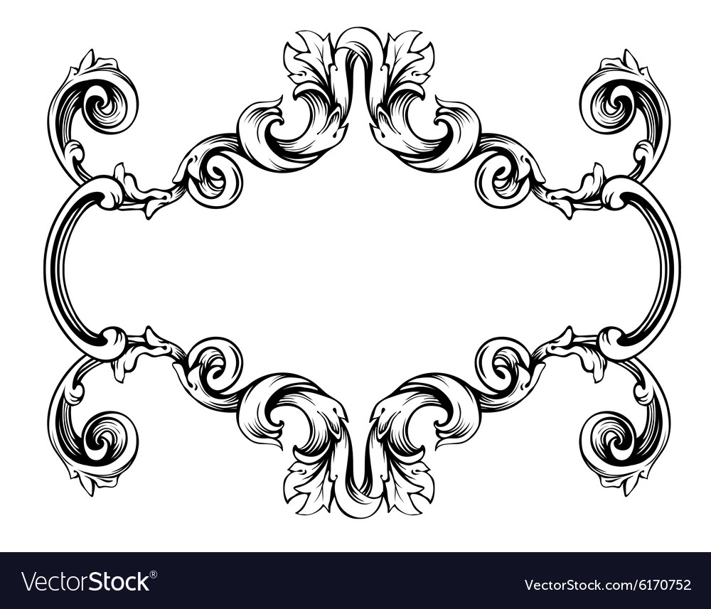 label frame romantic vector graphic