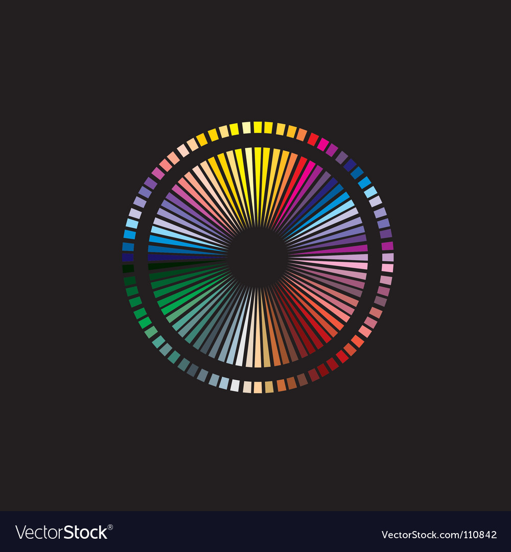 Free color spectrum vector