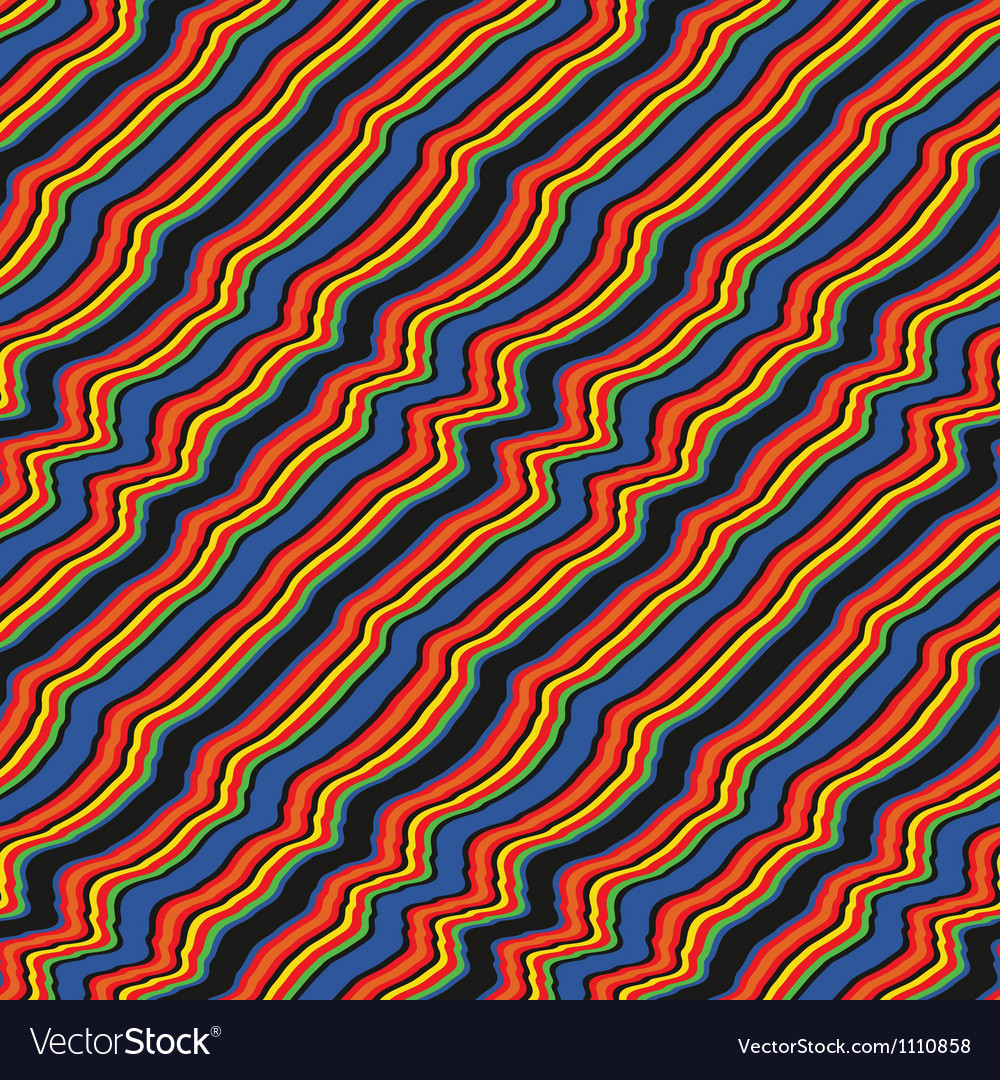Wavy stripes vector