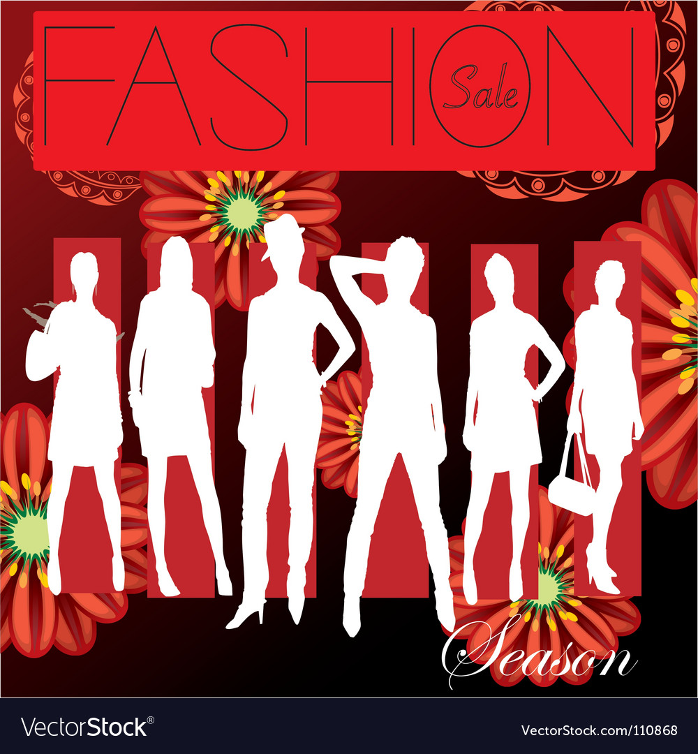 Free fashion cover vector