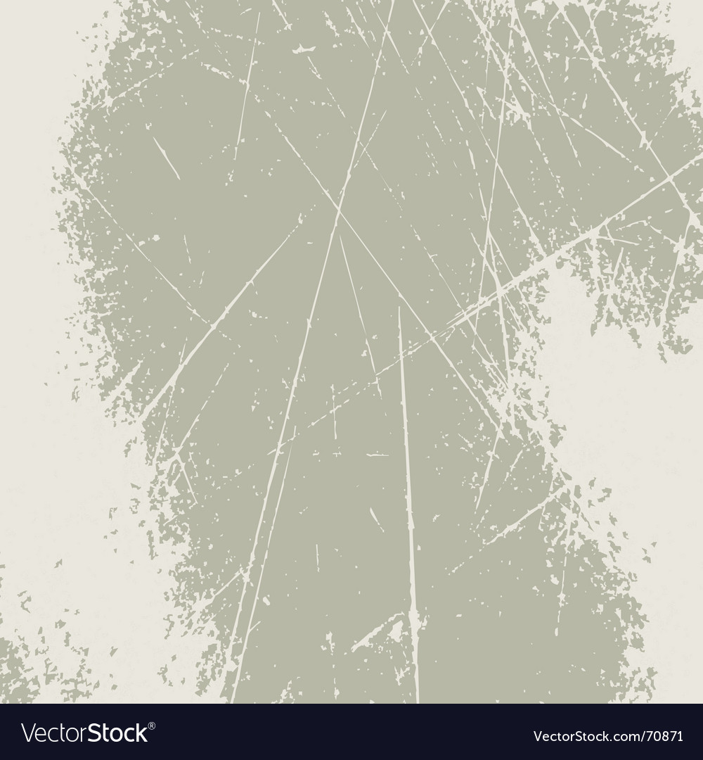 Grunge scratched background vector
