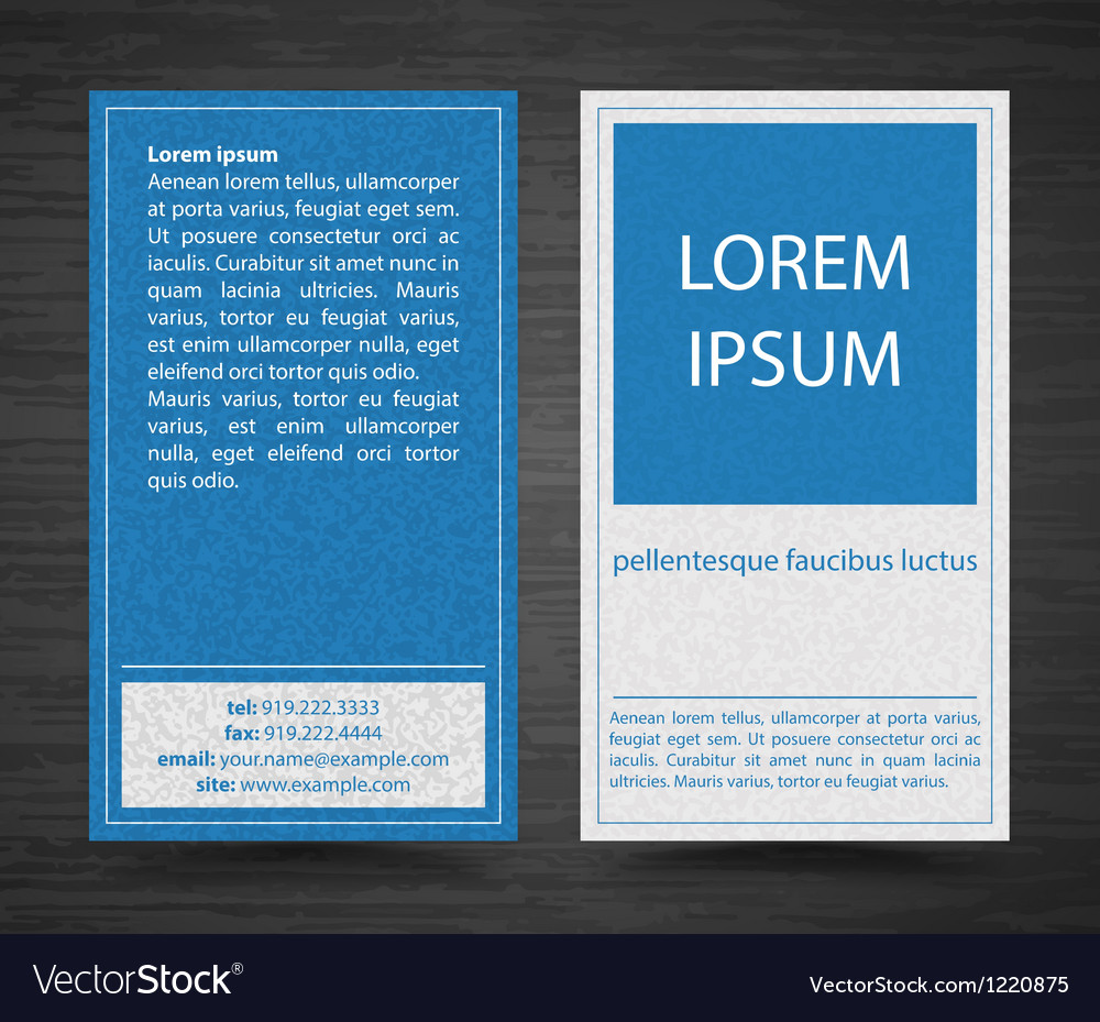 Free abstract creative business cards set template vector