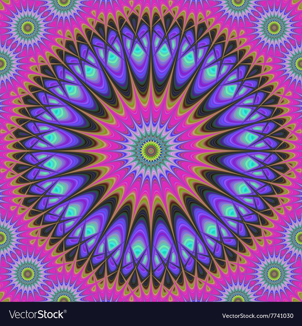Abstract oriental star design background