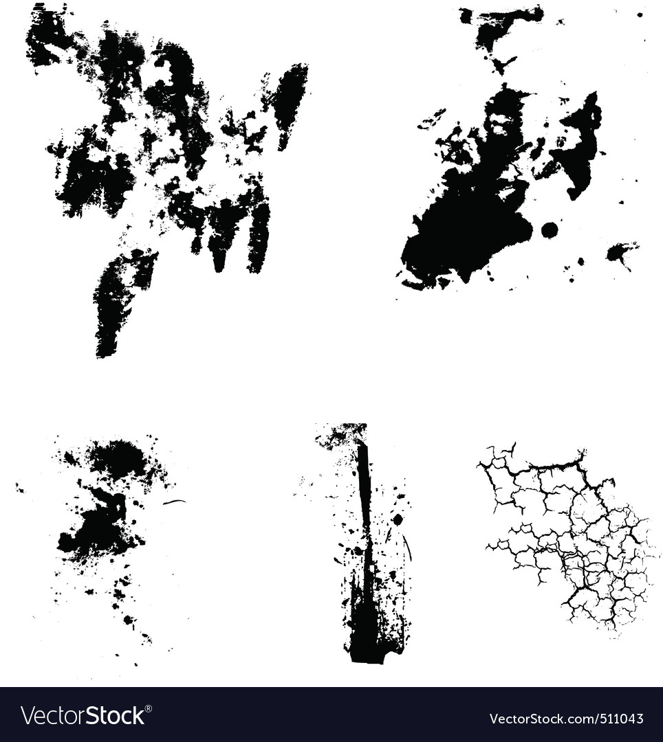 Free grunge cracks vector