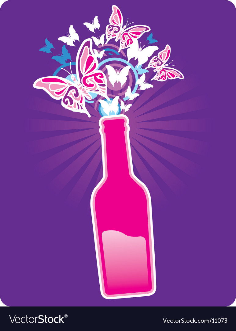 Bottle spring vector