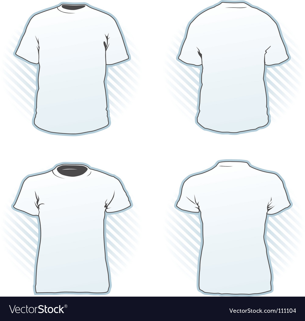 Tshirt design template set vector
