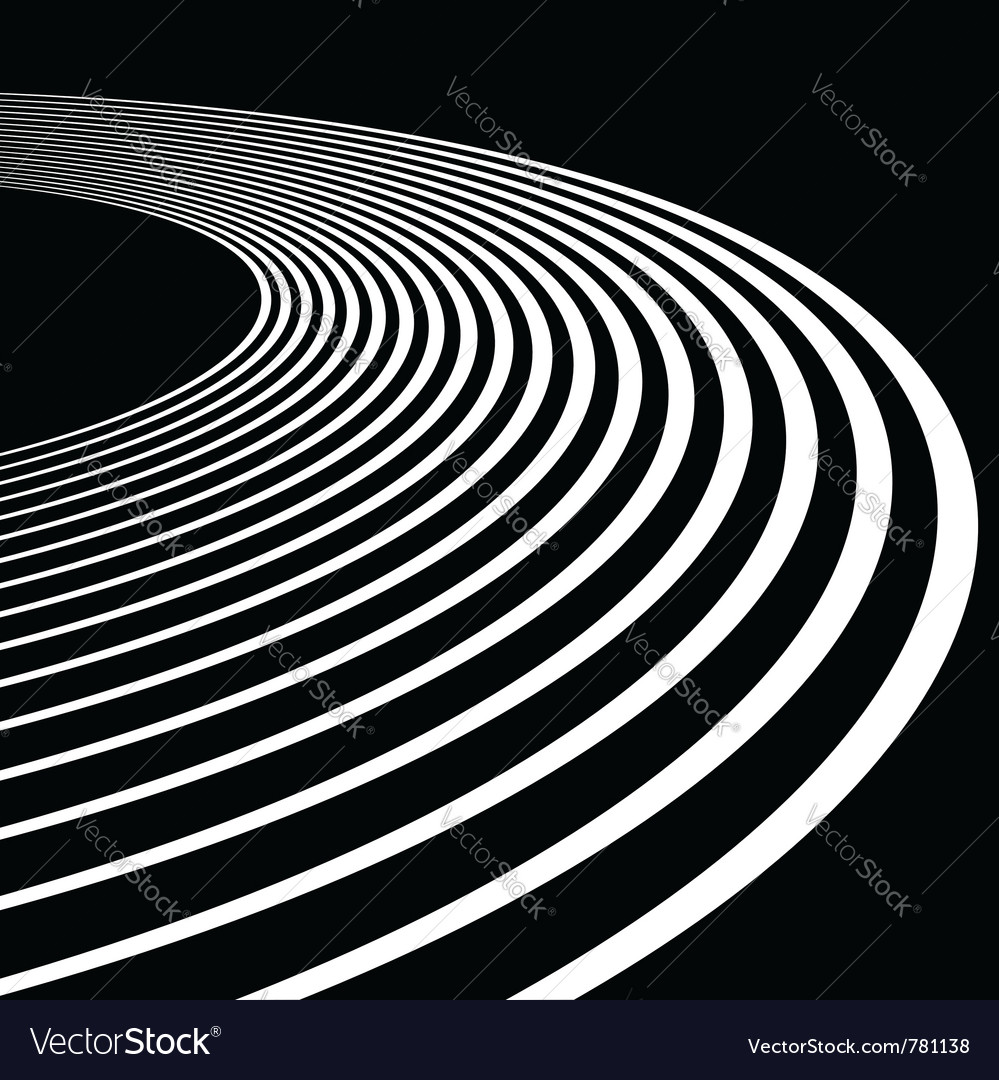 Background with track lines vector