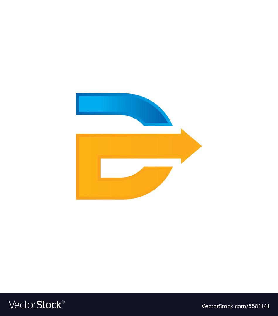 Arrow letter d a...D Arrow Logo