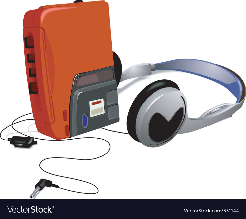 Walkman vector