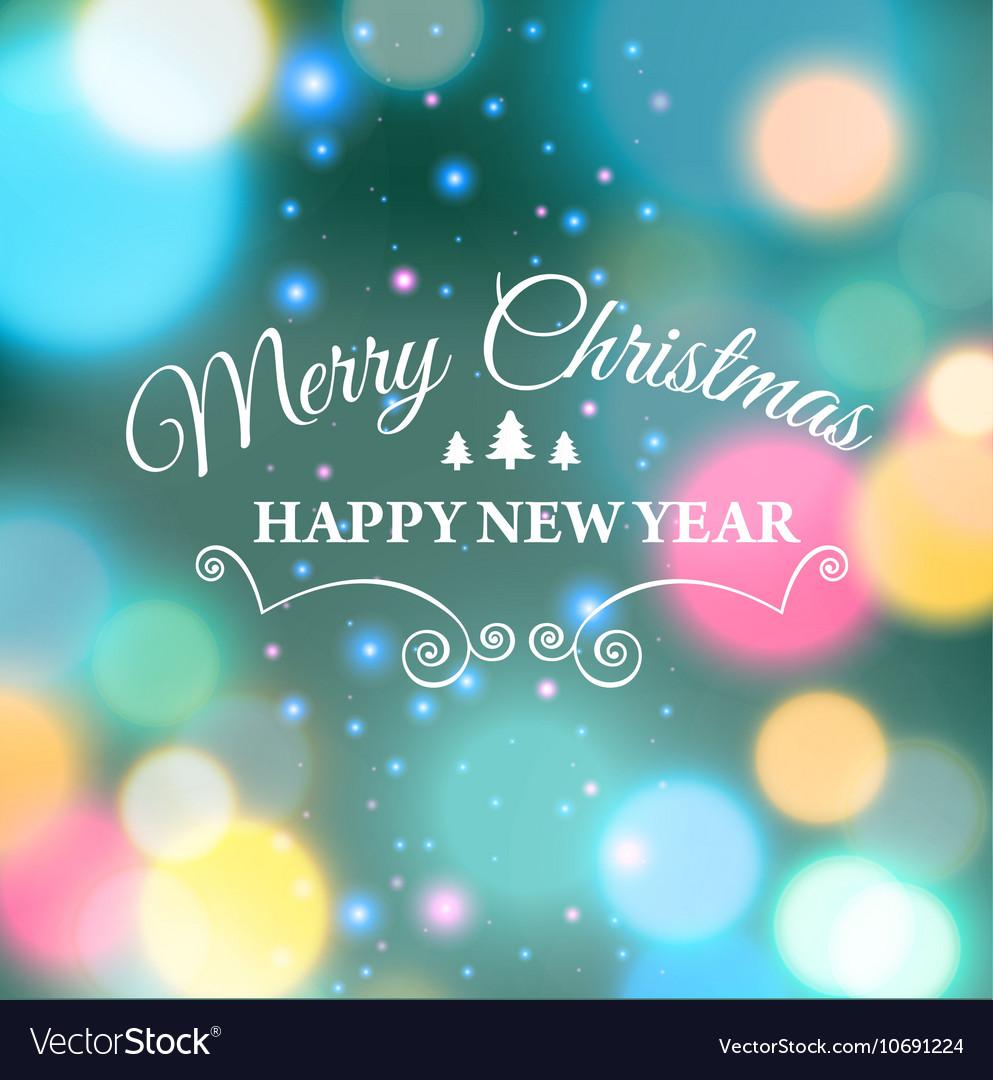 Merry christmas ecard template vector by MariaAverburg - Image ...