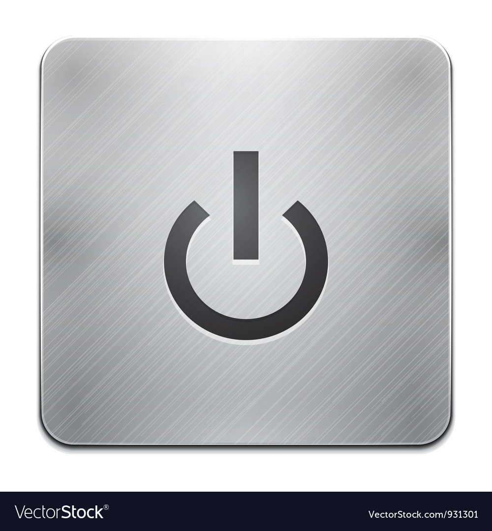 Power app icon vector