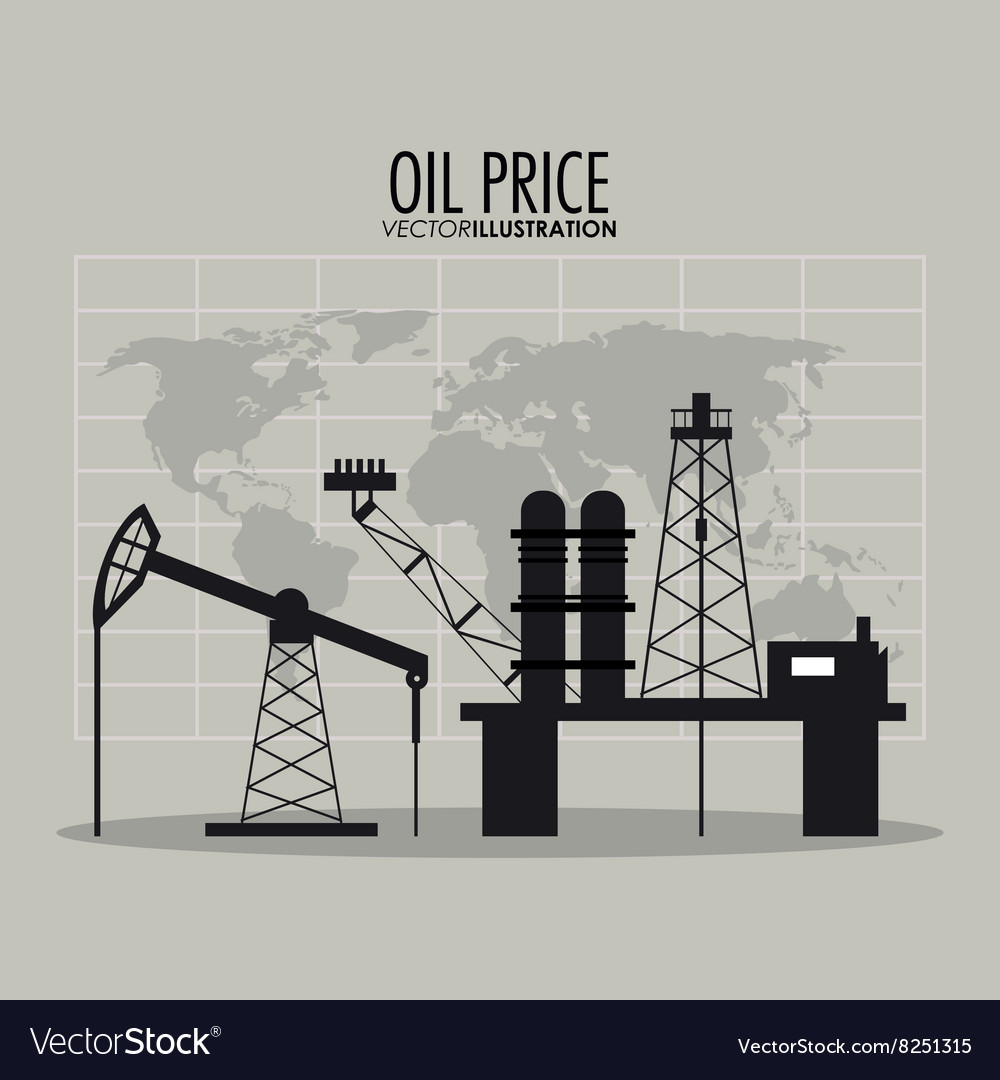 Oil Stock Quote: Oil Price Design Vector By Jemastock