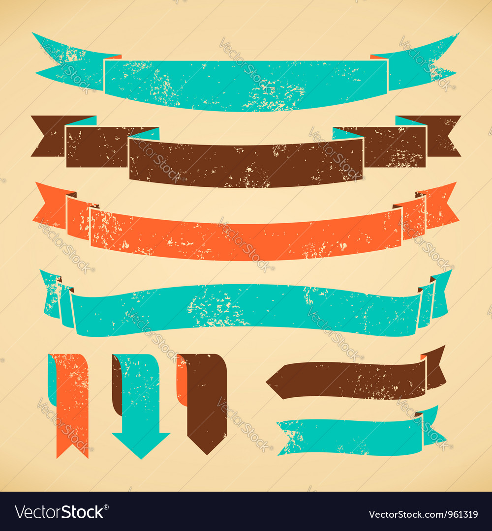 Bookmarks and banners collection vector