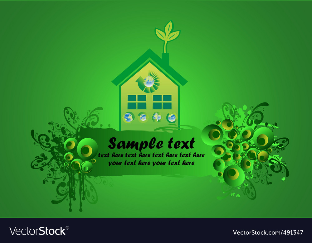 Environmental building vector