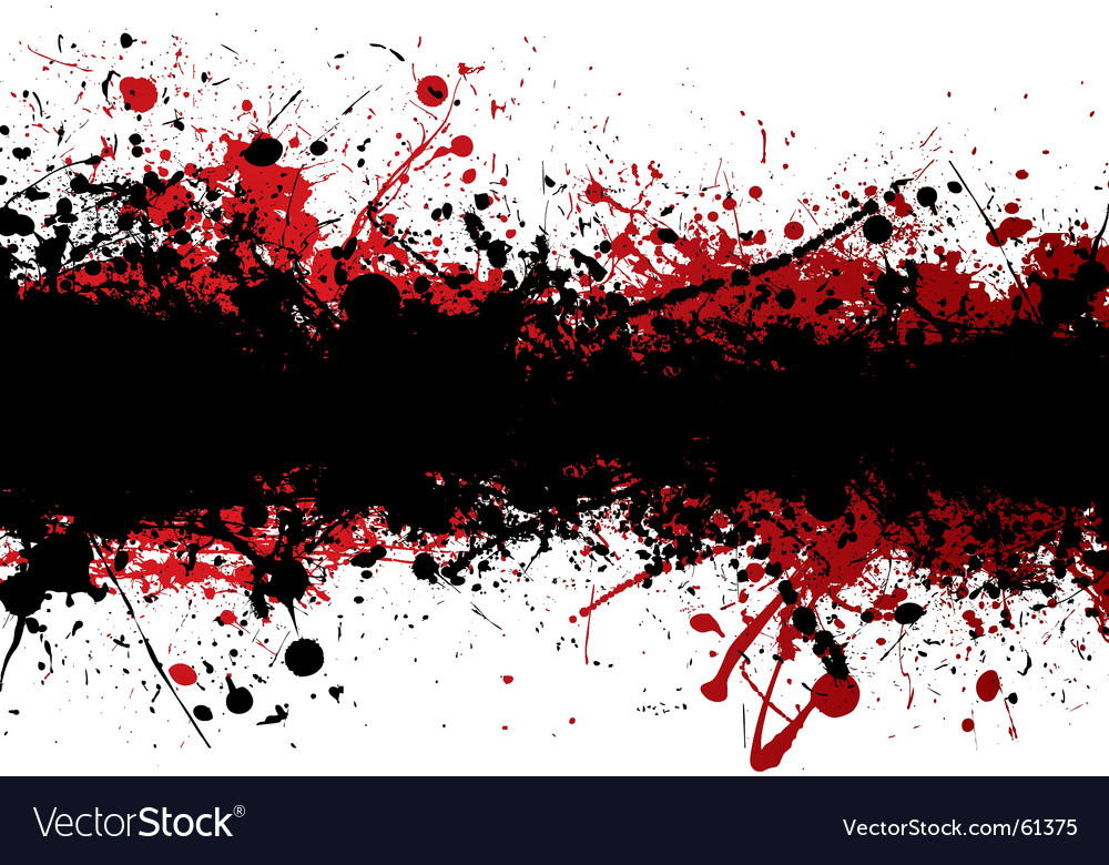 Blood strip vector
