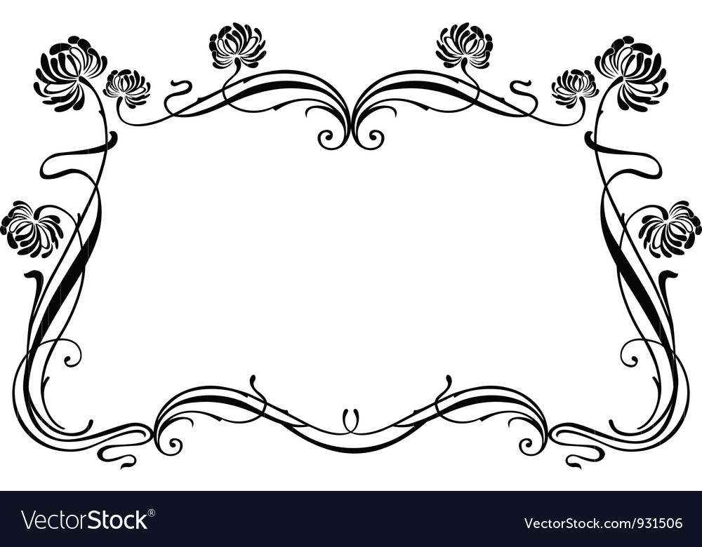 decorative frame clipart clipartfest
