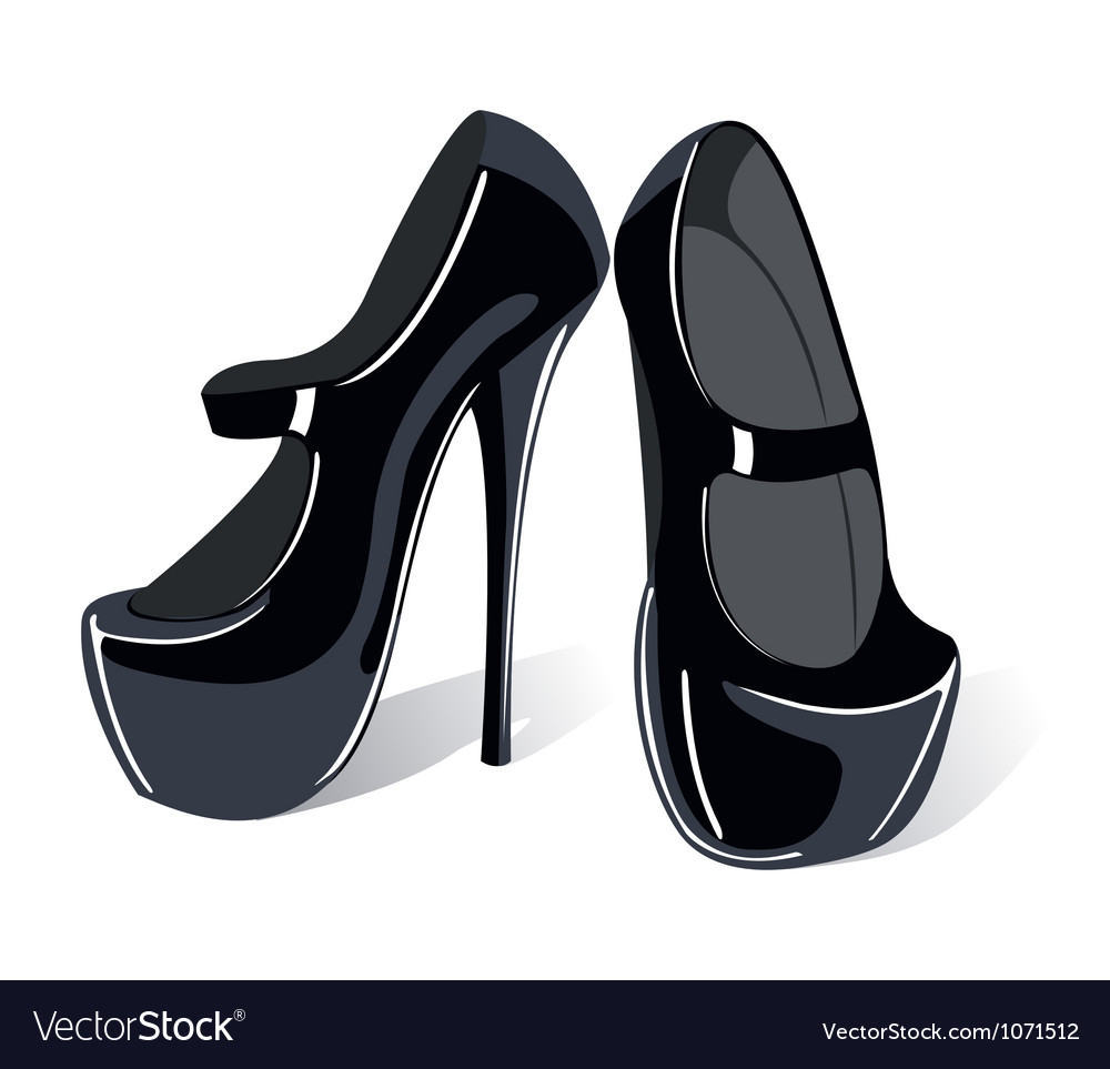 Shoes classic vector