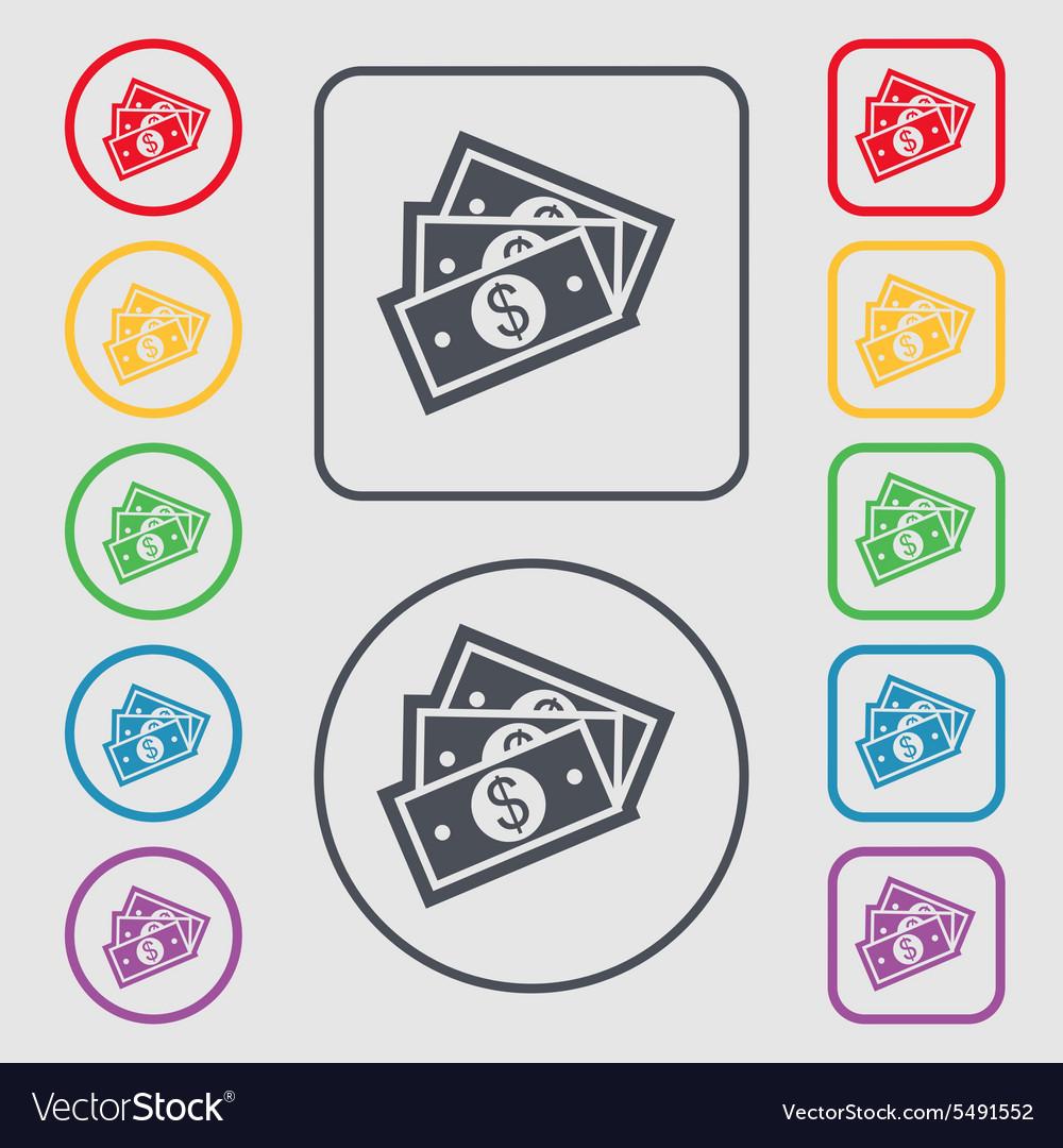 Us Dollar Icon Sign