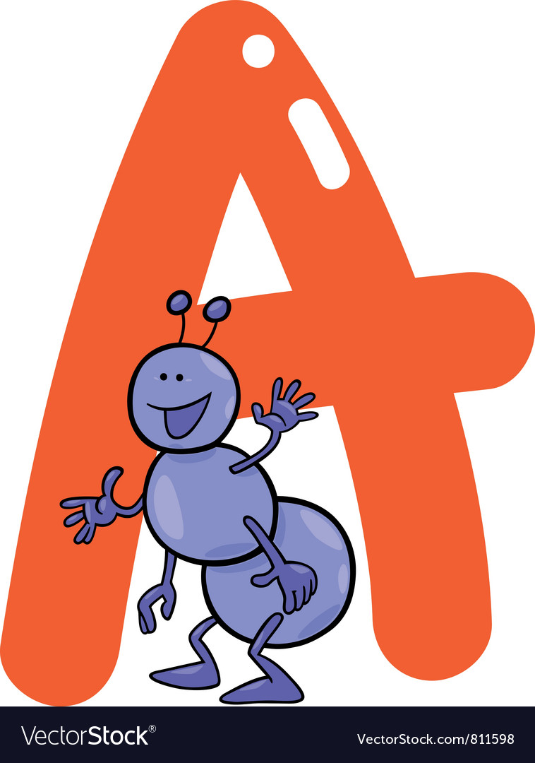 A for ant vector
