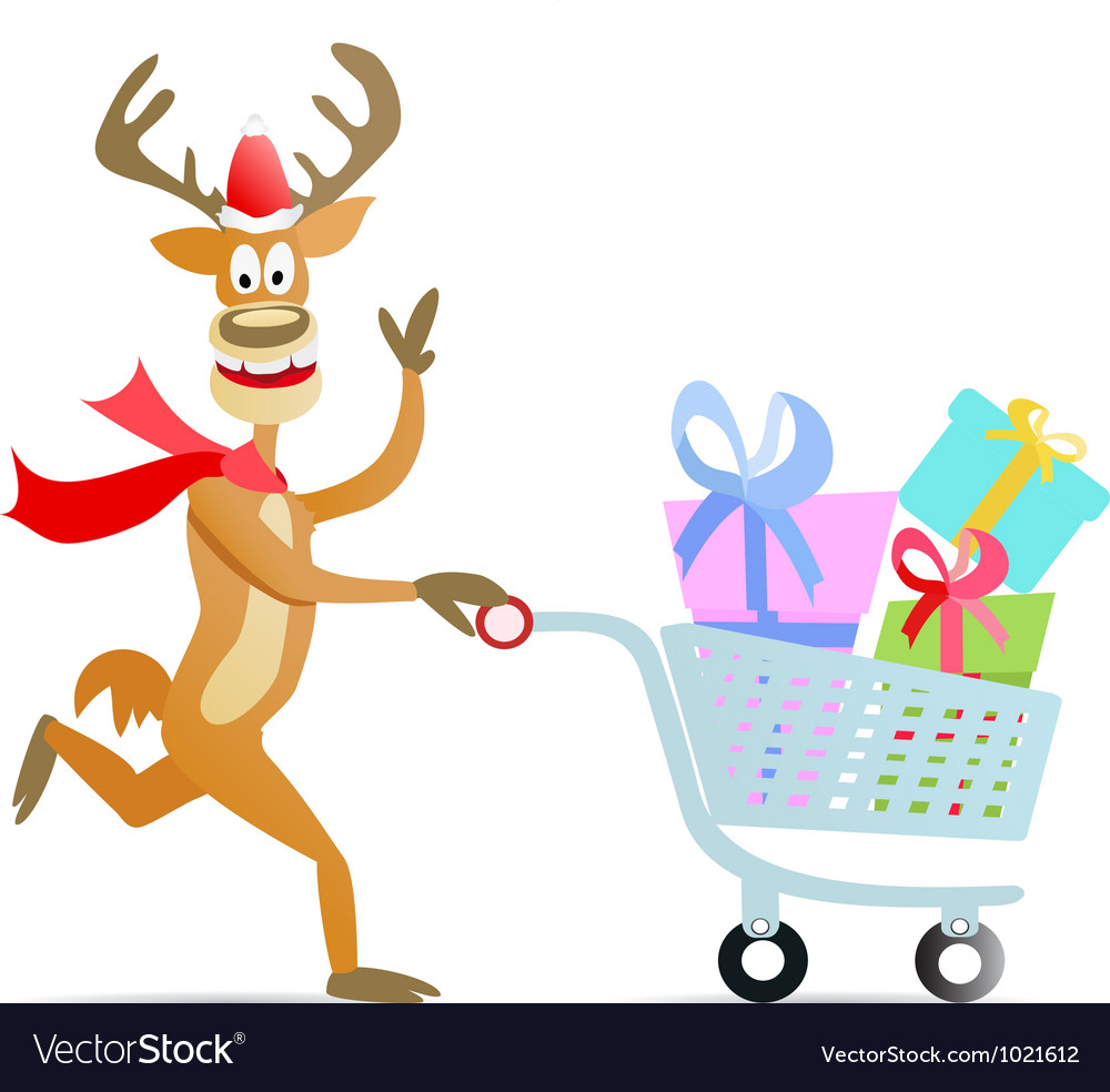 https://cdn.vectorstock.com/i/composite/16,12/running-shopping-christmas-reindeer-vector-1021612.jpg