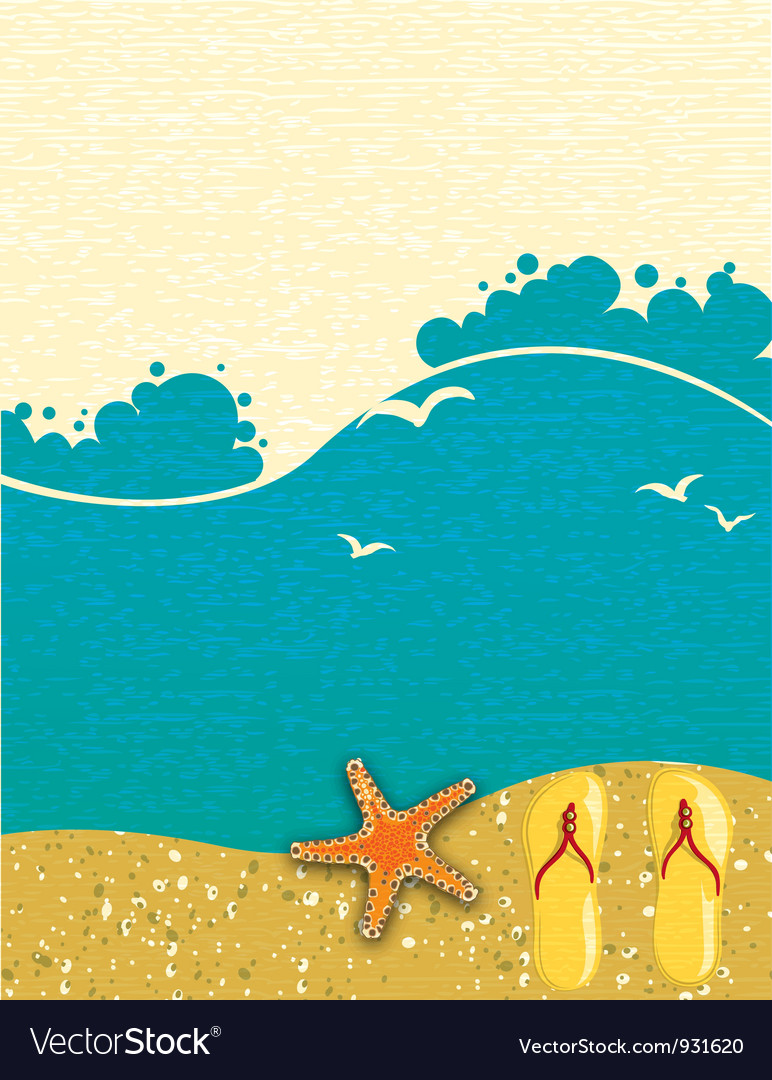 Free summer background vector