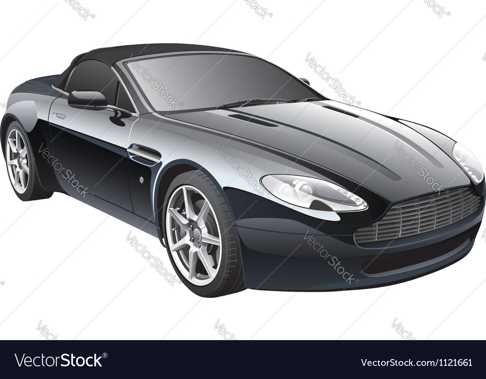 Gentlemans car vector