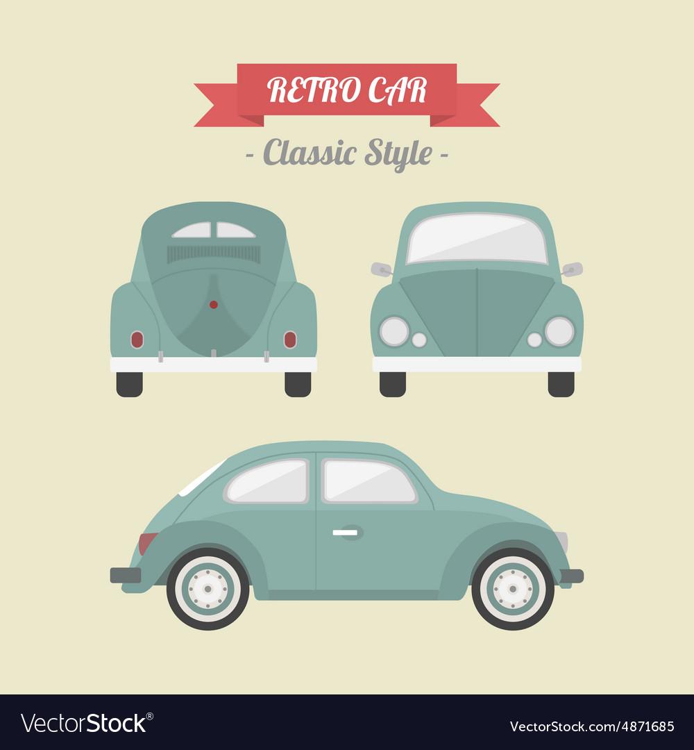 98retro car