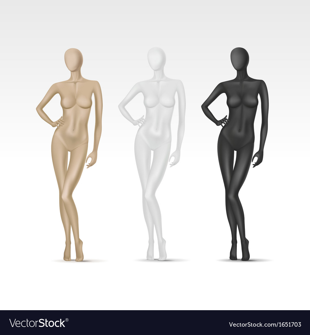 Mannequin Silhouettes Royalty Free Stock Photography - Image: 17161077
