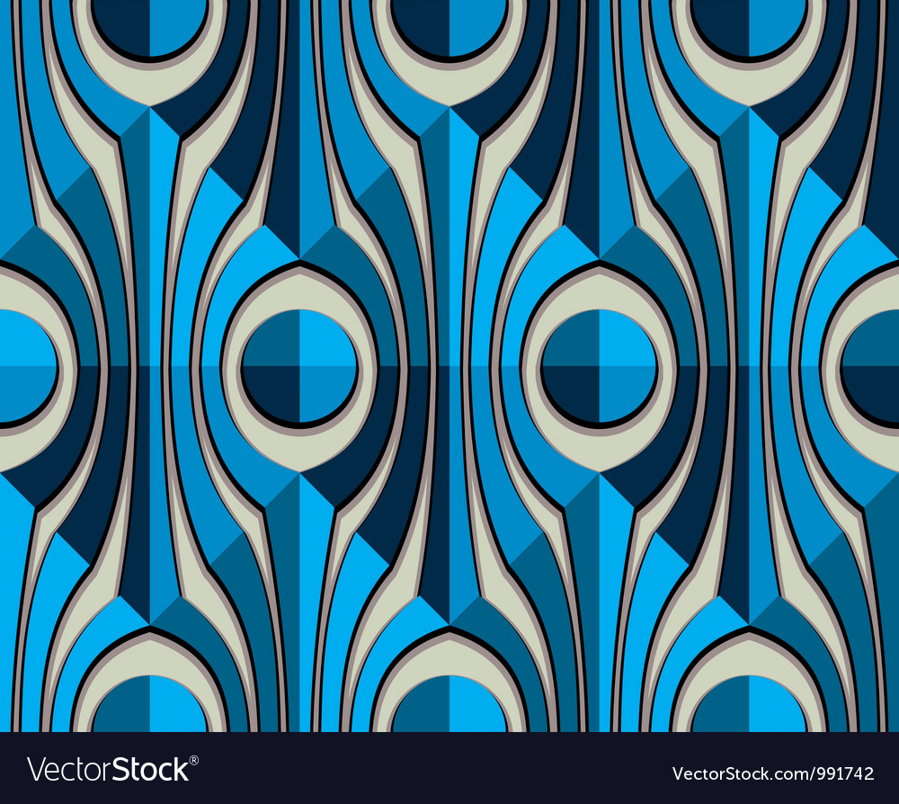 Vintage abstract seamless pattern vector