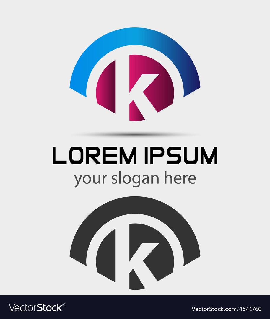 Letter k logo d... K Logo Design